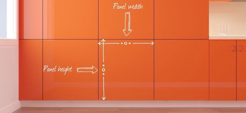 Wall Panel Width and Height
