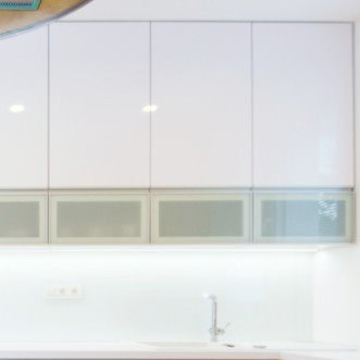 Aluminum Glass Cabinet Doors