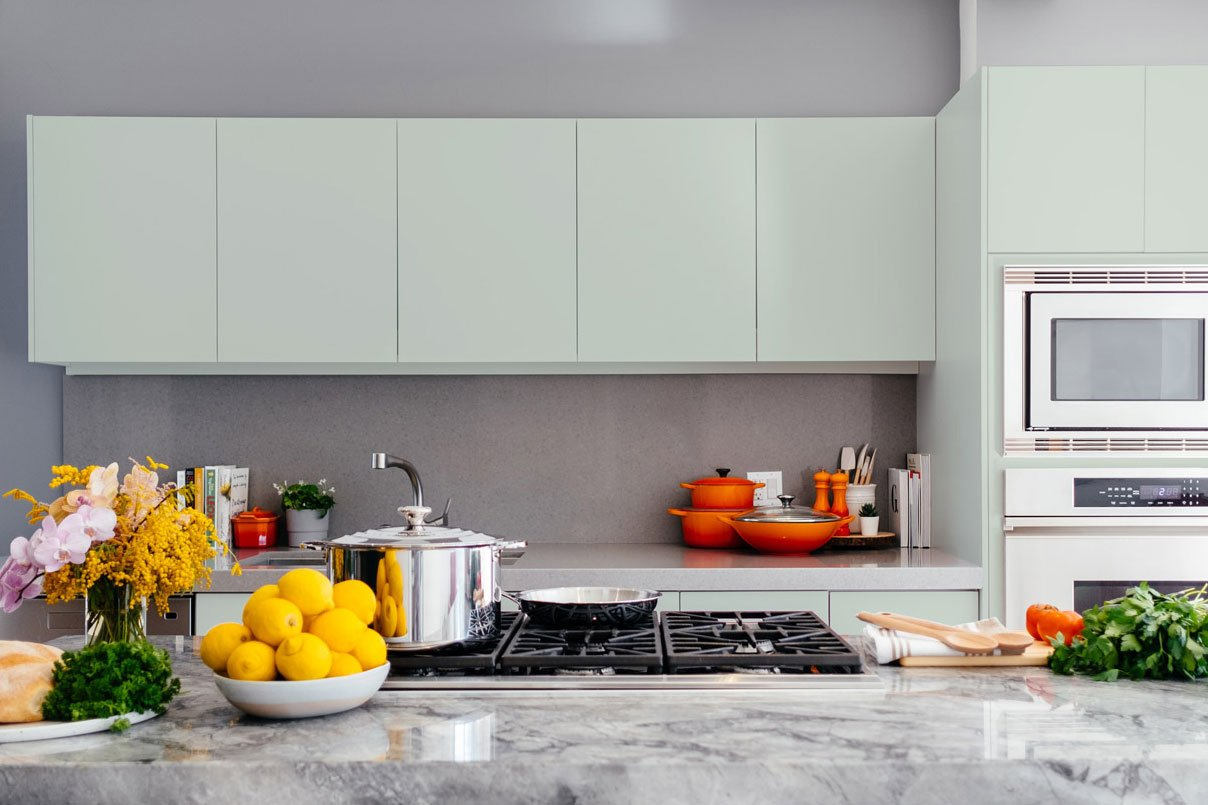 Matte Color Cabinet Doors