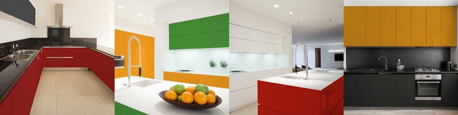 DUAL-TONE KITCHEN CABINETS