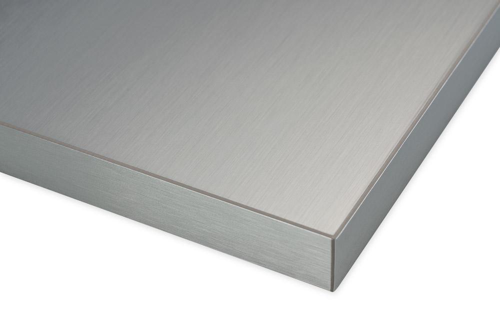 Brushed Aluminum Real Aluminum Surface