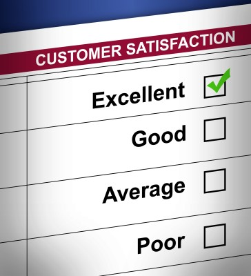 Customer satisfaction Kitchen Cabinets