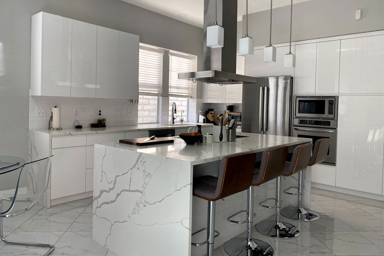 RAL 9003 White Kitchen Cabinet Doors by 27estore