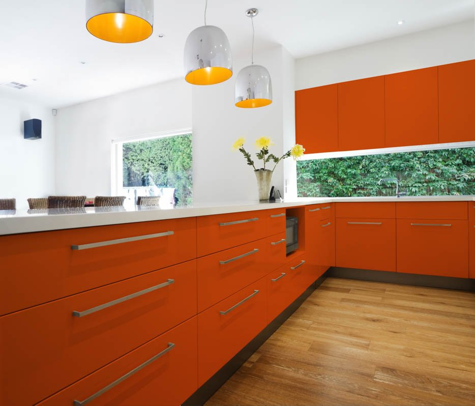 Pure Orange Kitchen