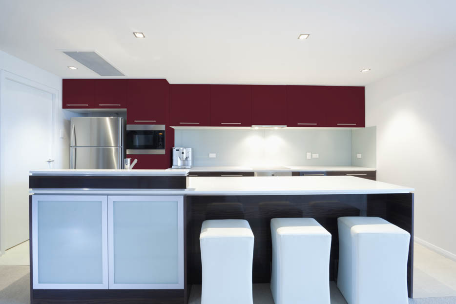 Wine Red Kitchen