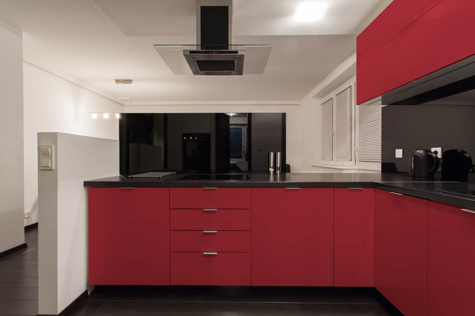 Orient Red Kitchen