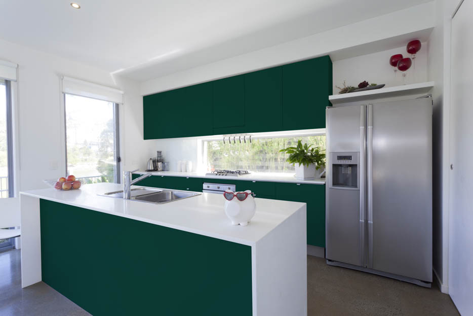 Moss Green Kitchen Design