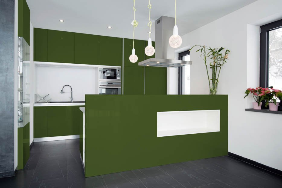 Fern Green Kitchen Design