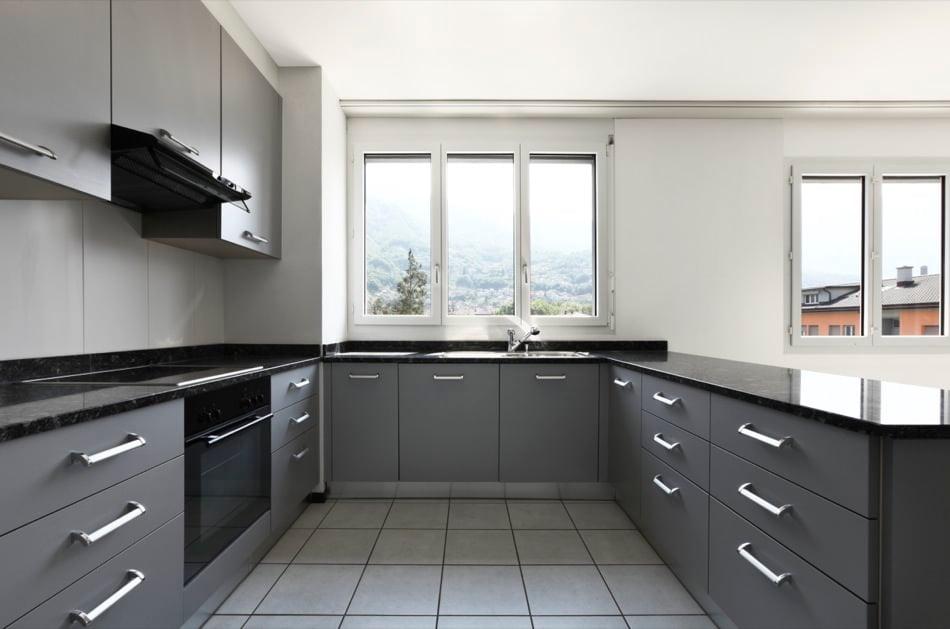 RAL 7046 Telegrey 2 Matte Kitchen Cabinets