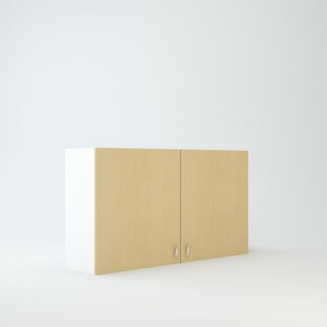 """Wall cabinet 27"""" High 48"""" Wide For Two Doors"""