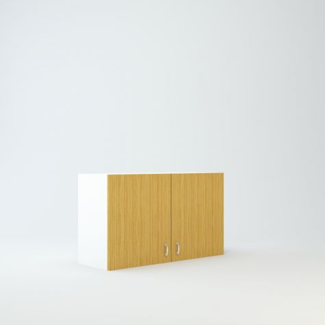 """Wall cabinet 21"""" High 36"""" Wide For Two Doors"""