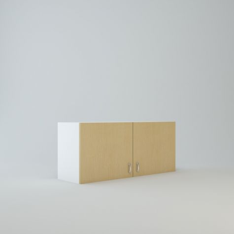 """Wall cabinet 18"""" High 42"""" Wide For Two Doors"""
