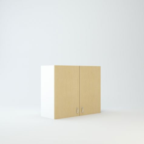 """Wall cabinet 27"""" High 33"""" Wide For Two Doors"""