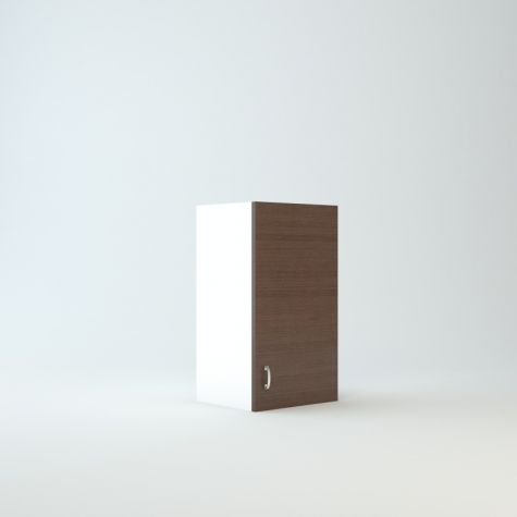 """Wall cabinet 27"""" High 15"""" Wide For One Door"""