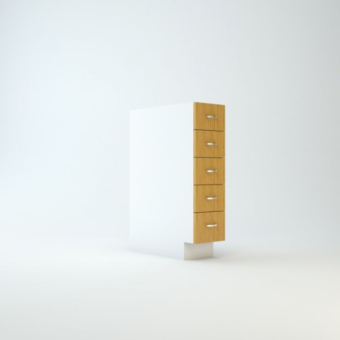 Base Cabinet 9 For Stack Of Five Drawers