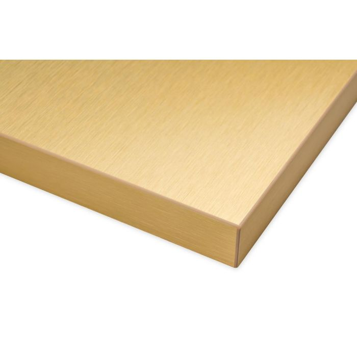 Brushed Gold Real Aluminum Surface Cabinet Doors