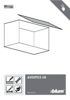 Aventos HS assembly