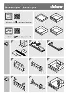 Legrabox Internal drawers assembly