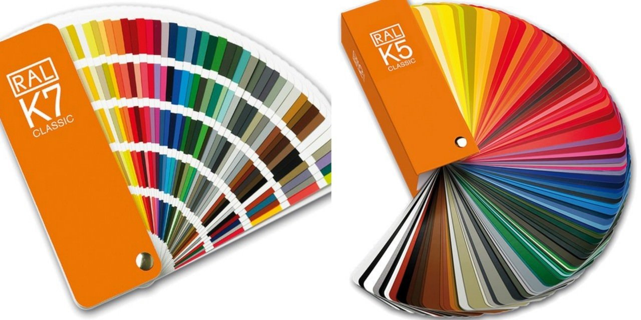 RAL Complete Color Swatch Booklets