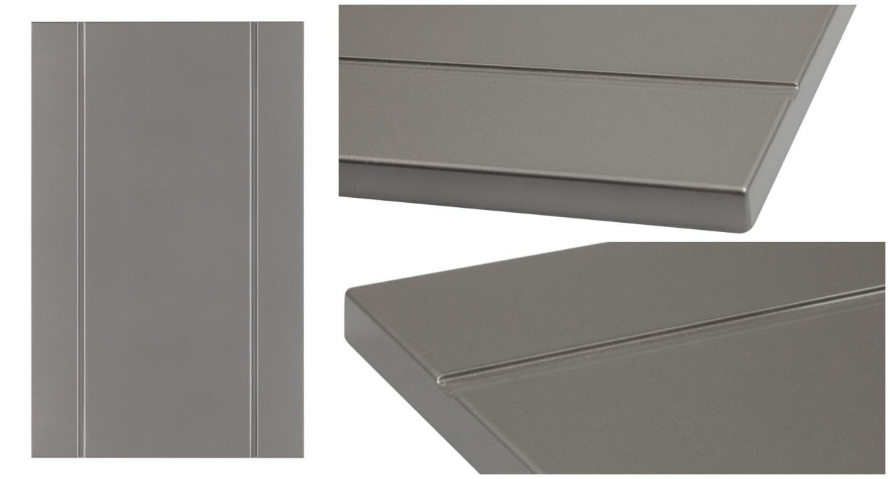 Model 5301 - shown in RAL 9007 Grey Aluminum