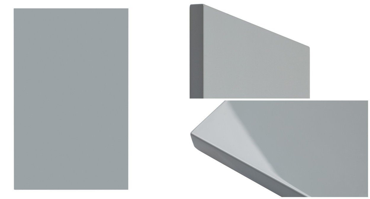 Model Flat Slab - shown in RAL 7040 Window Grey