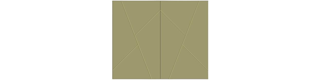 Model #### - Shown in a 2 Door Configuration