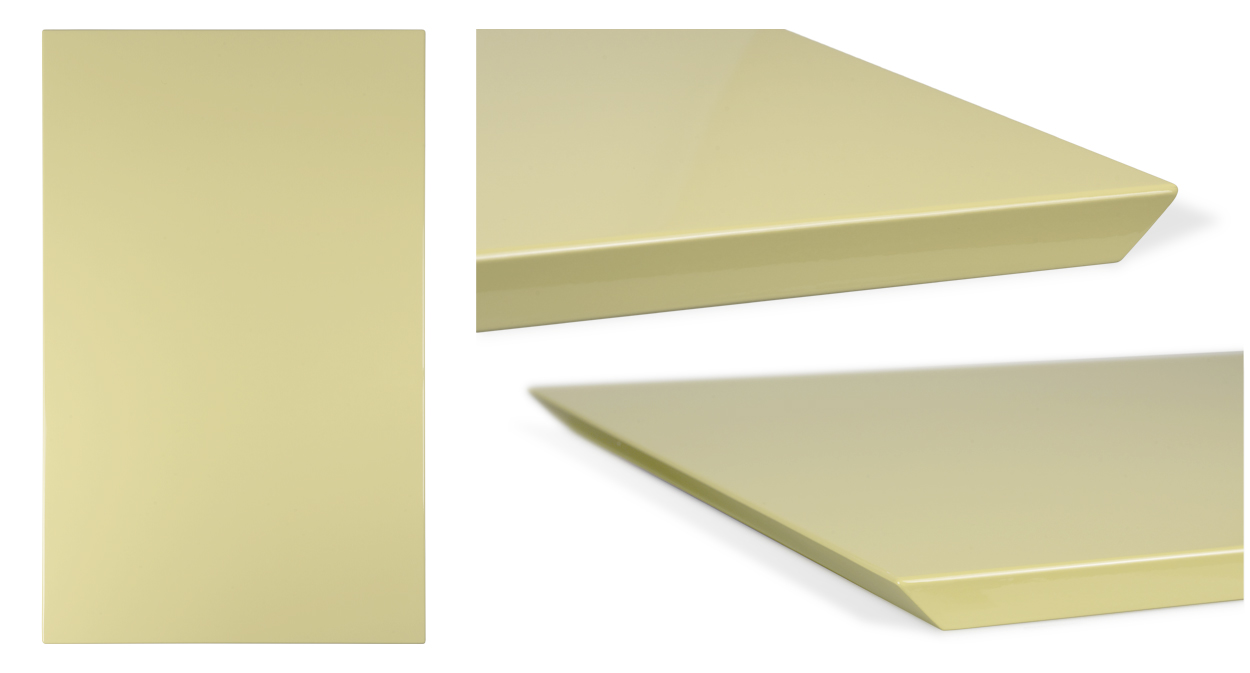 Model 5045 - 45 Degree Mitered Edge - shown in RAL 1000 Green Beige