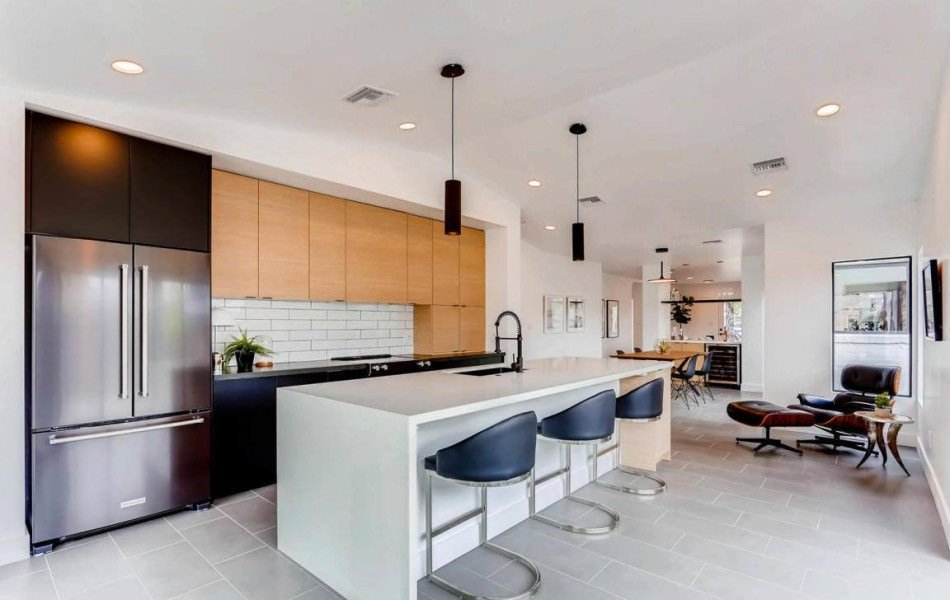 RAL 9011 Graphite Black Matte Kitchen Cabinets
