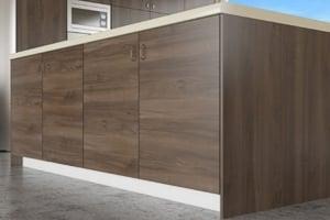 Dark Pacific Walnut Cabinet Doors