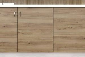 Light Pacific Walnut Cabinet Doors